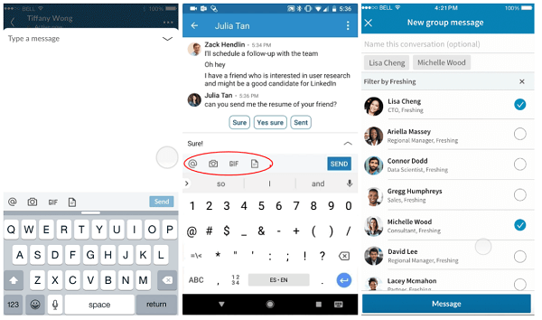 LinkedIn rolls out updates to LinkedIn Messaging.