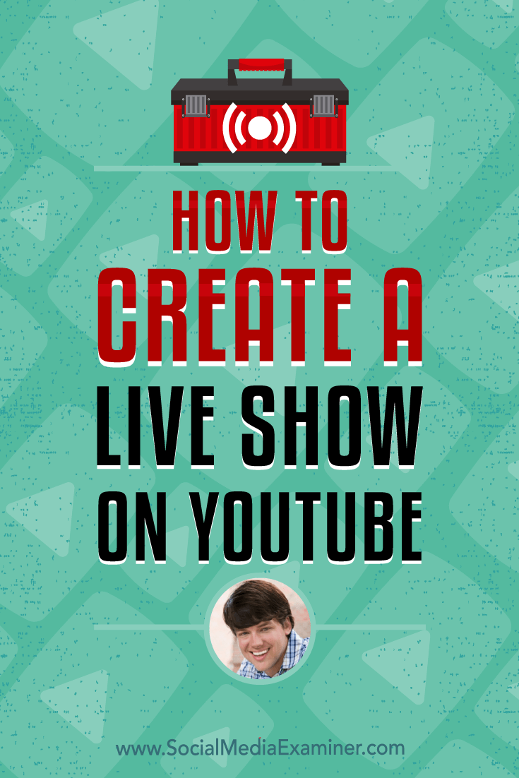 Discover how to use OBS live-streaming software to produce quality audio and video. Find tips for appearing on-camera and creating a structure for your YouTube show.