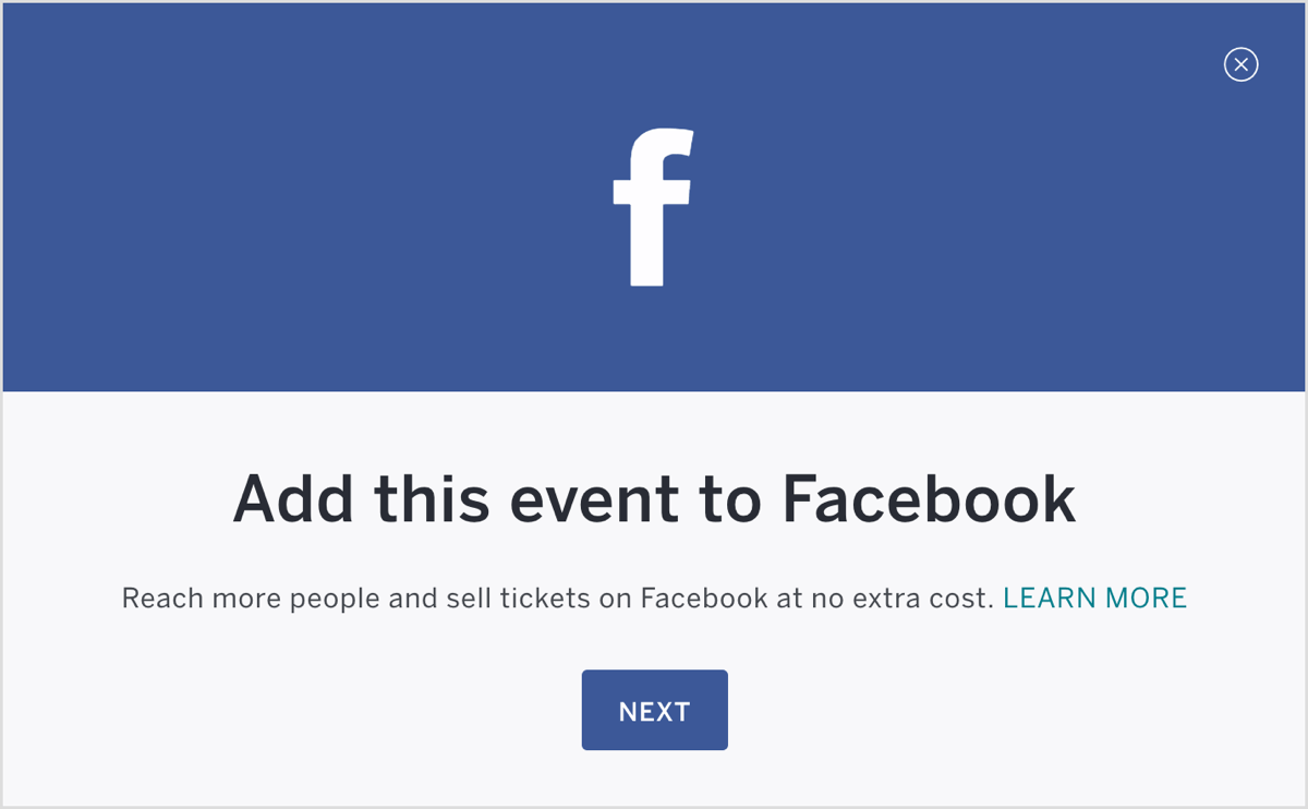 How to Use Facebook Ads to Sell Tickets to Your Facebook