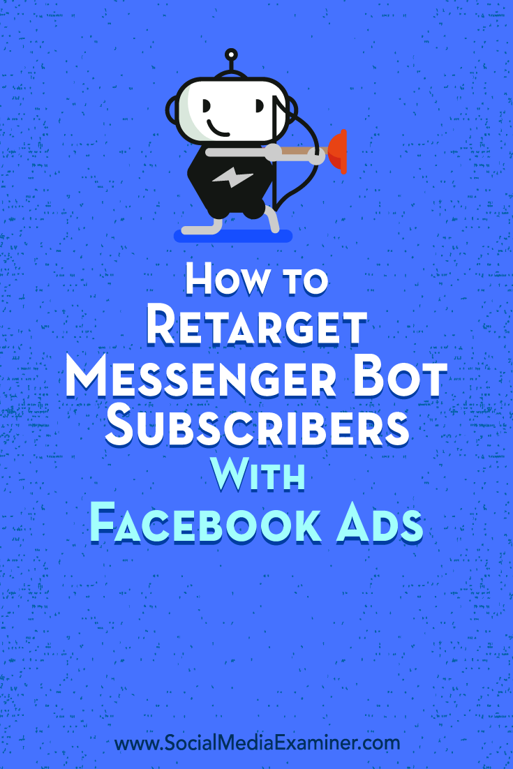 Learn how to export user data from your Messenger bot subscribers to create custom and lookalike audiences for Facebook ad targeting.