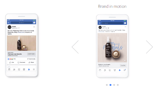 Facebook's Creative Shop debuted a new production approach called Create to Convert, an easy framework to add lightweight motion to still images to create more compelling and effective direct-response ads.