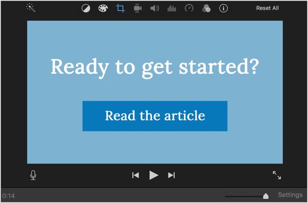Sử dụng lời gọi hành động trong quảng cáo video LinkedIn của bạn.