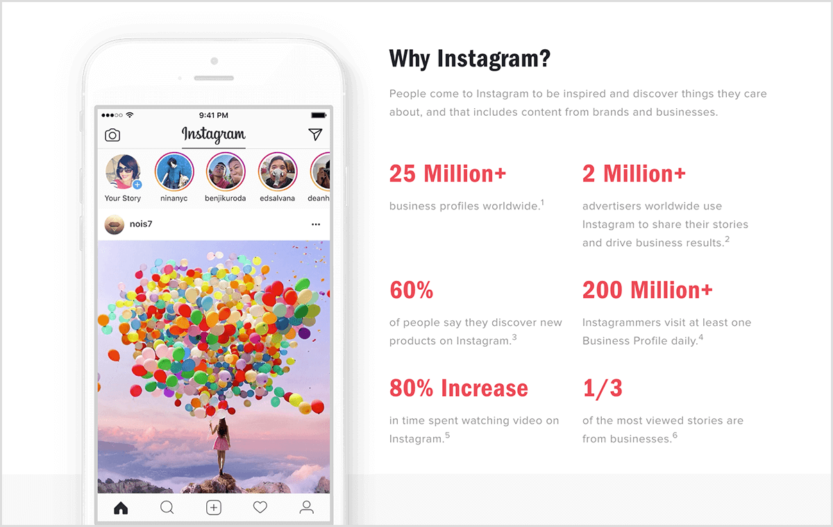 4db788730e This is a screenshot of Instagram user statistics for businesses from the  Instagram blog. On