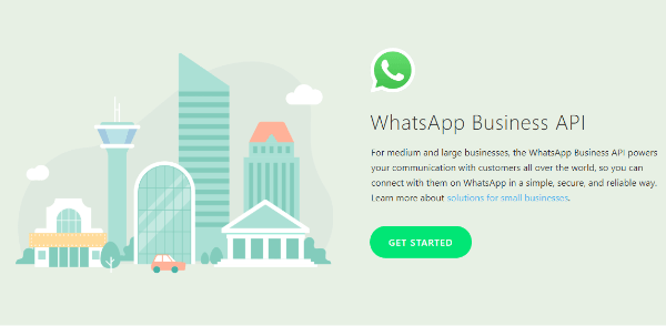 WhatsApp expanded its business tools with the launch of the WhatsApp Business API, which allows medium and large business to manage and send non-promotional messages to customers such as appointment reminders, shipping info, or event tickets, and more for a fixed rate.