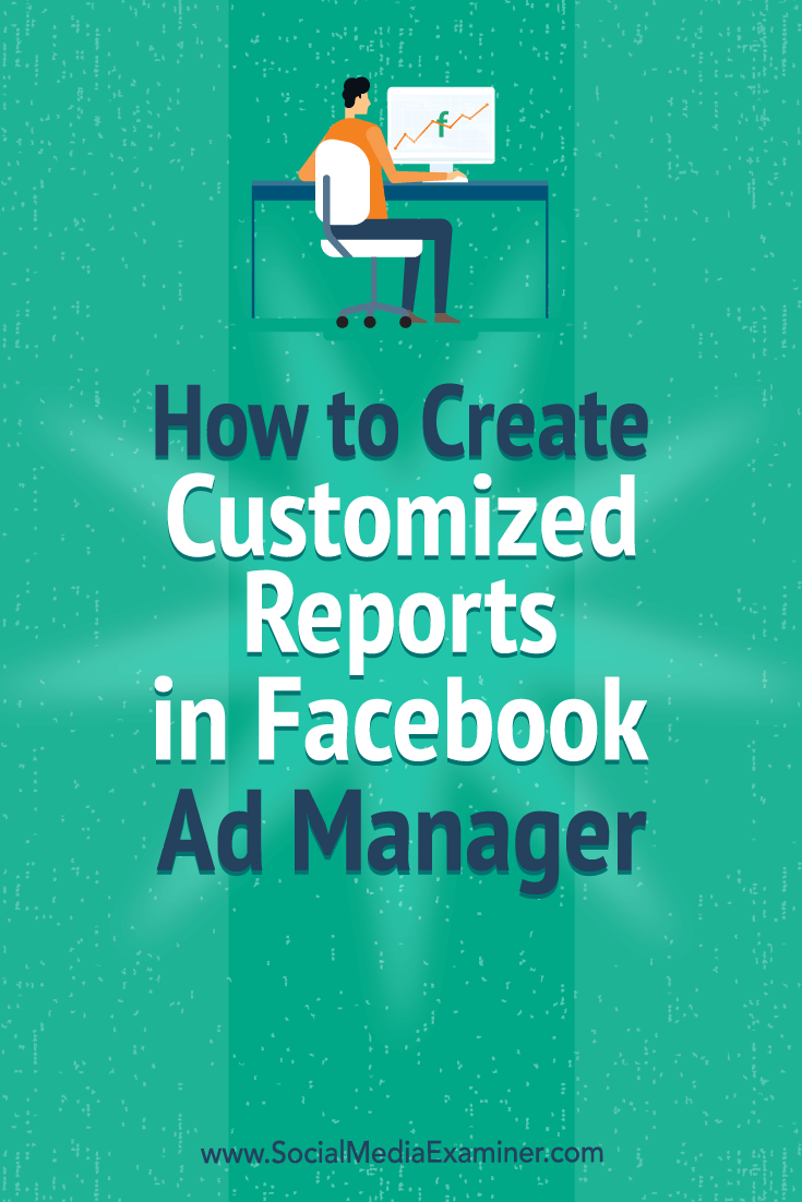 Learn how to set up a Facebook Ads Manager report that quickly reveals which ads are working well and which you need to adjust.