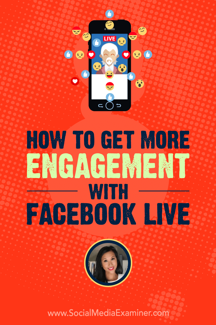 Learn how to promote your Facebook Live video with events and cross-posting, and to improve engagement with questions, requests to share, and bots.