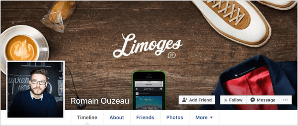 Your square Facebook profile pic should be 180 x 180 pixels and your cover image should be 820 x 312 pixels.