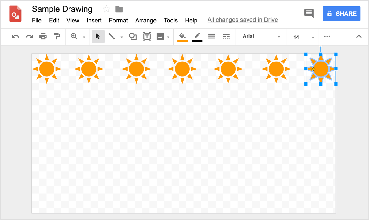How to Create Social Media Images With Google Drawings
