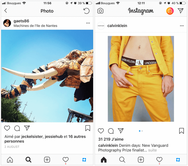 A square Instagram post needs to be sized at 1080 x 1080 pixels for the best quality in the feed and oblong Instagram posts are best at 1080 x 1350 pixels.