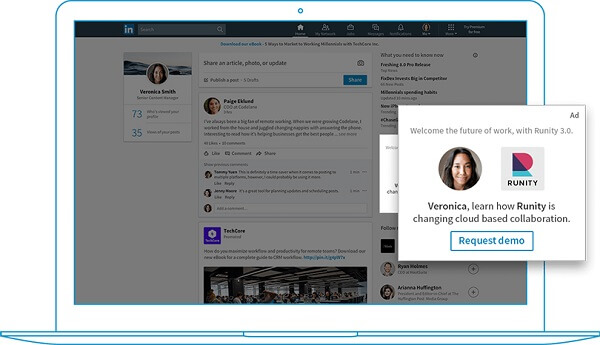 LinkedIn Dynamic Ads are now available in Campaign Manger.