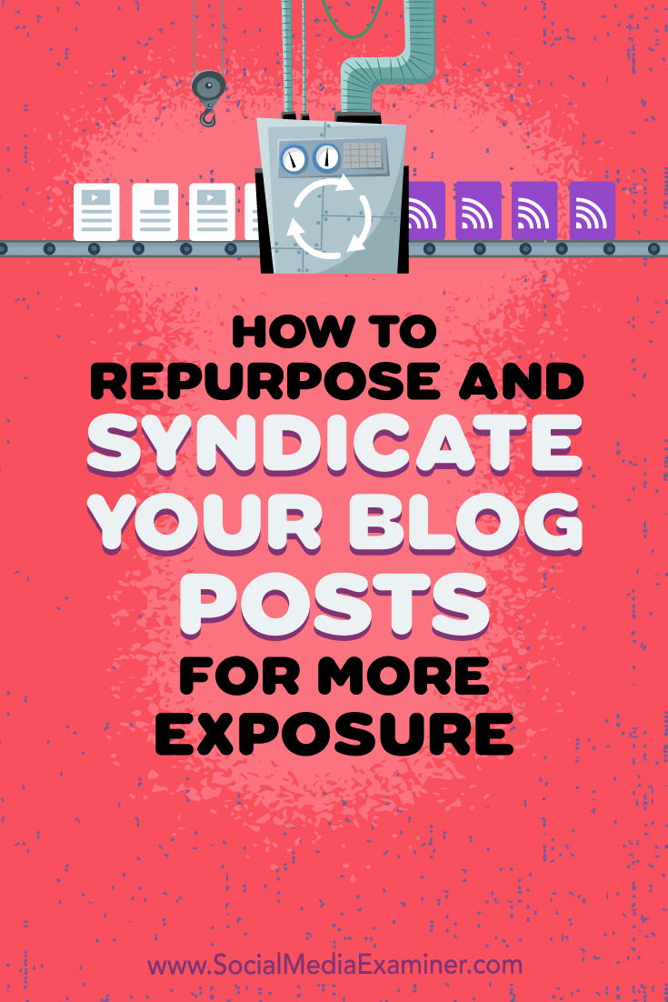 Learn how to republish your blog posts on social networks and other platforms while protecting your original content\'s search rank.