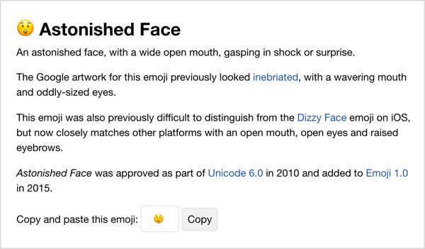 Copy emoji from Emojipedia.