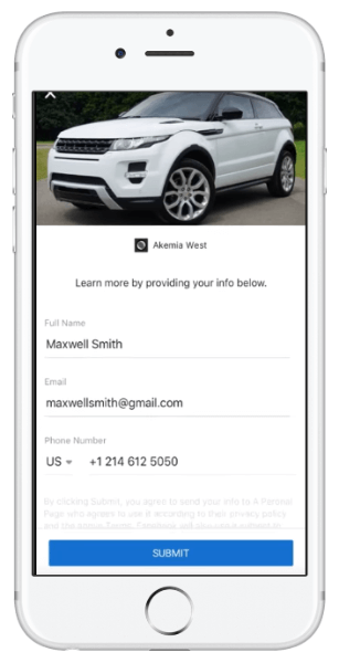 Businesses will now be able to include Instant Forms, formerly known as lead forms, in their Facebook ad campaigns.