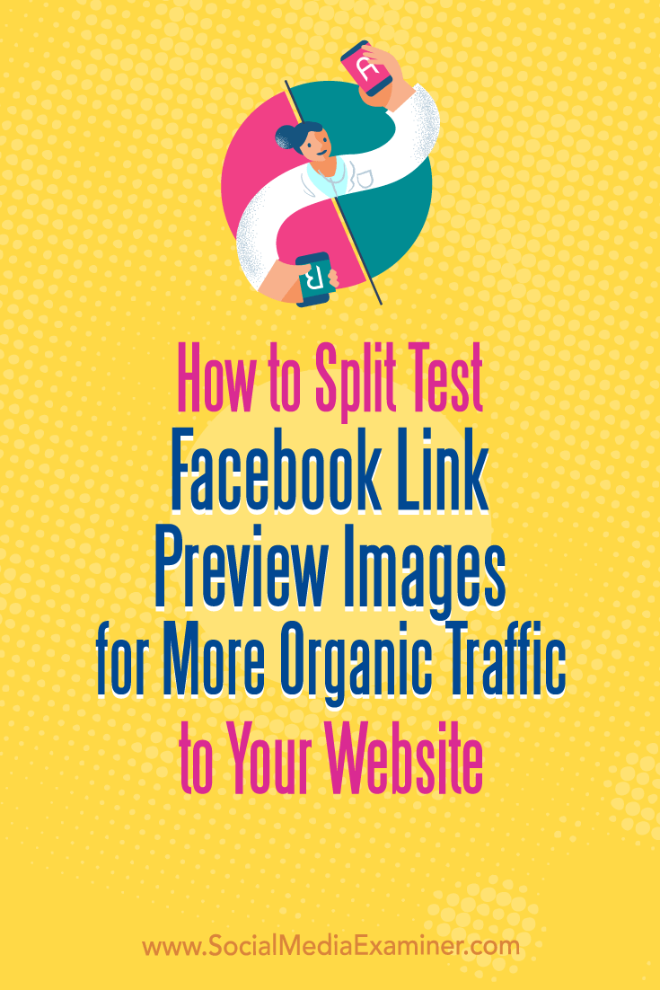 Learn how to use three tools to create, test, and optimize Facebook link preview images for better performance in the news feed.