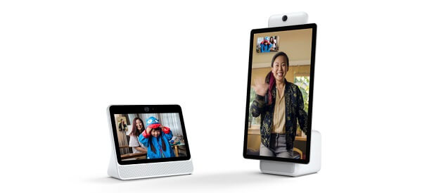 Facebook officially unveiled two new smartspeaker and video calling devices, Portal and Portal+.