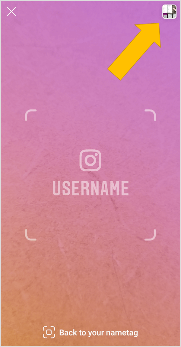 How to Use Instagram Nametags for Marketing : Social Media