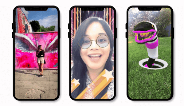 Snapchat rolled out an update to Lens Studio which includes new features, templates, and types of Lenses requested by the community.