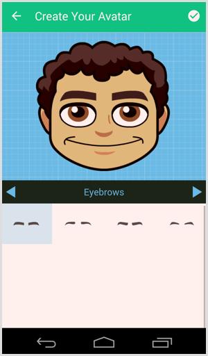 bitmoji customize avatar