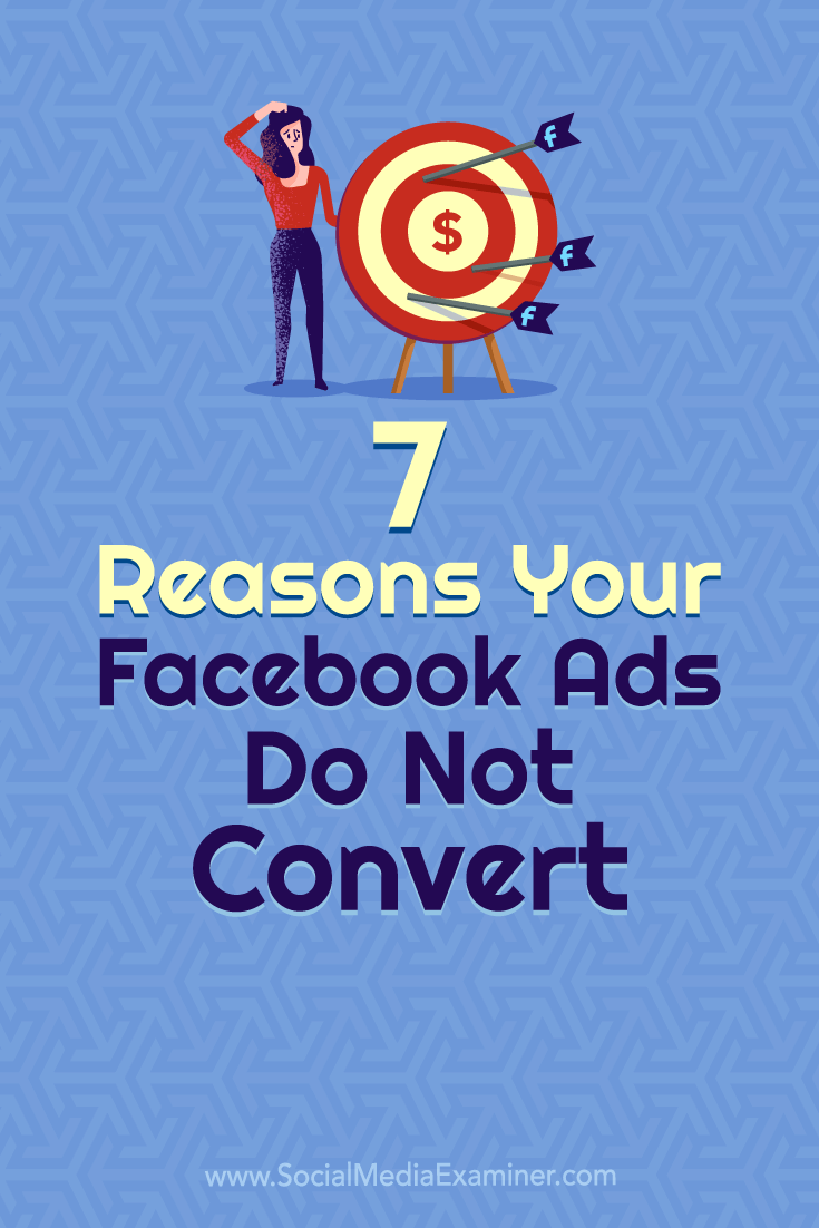 Discover seven common factors that impede Facebook ad performance and find troubleshooting tips for fixing them.