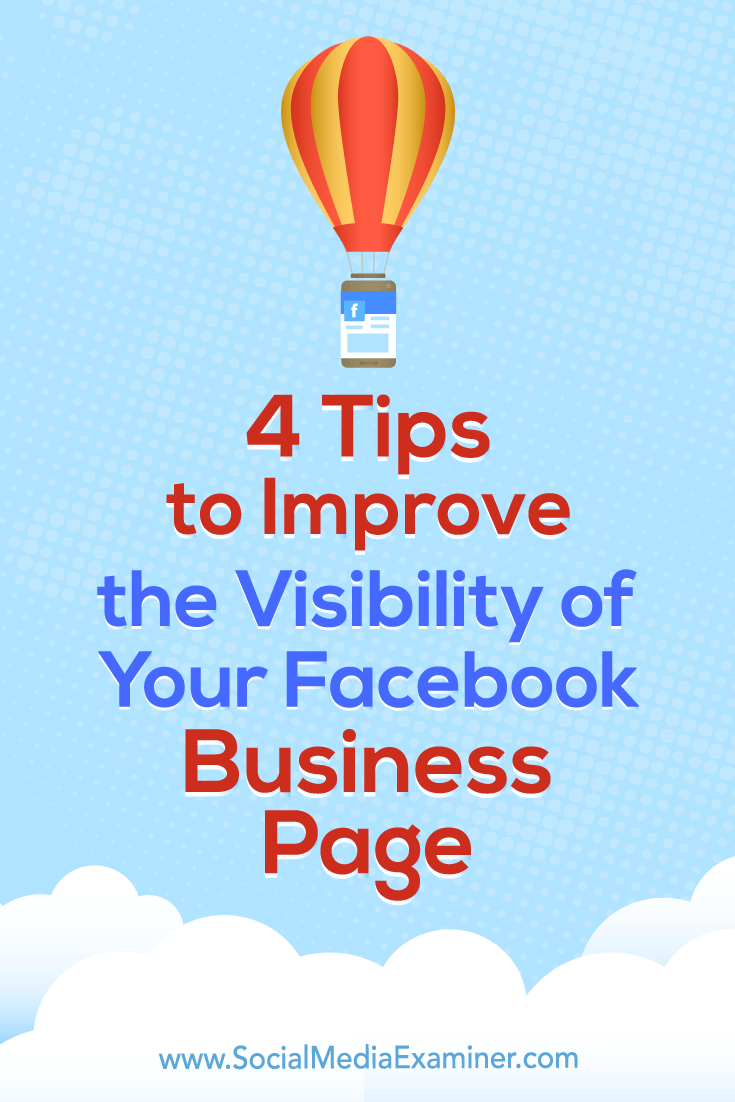Discover four ways to optimize your Facebook page and content, and improve your visibility in search.
