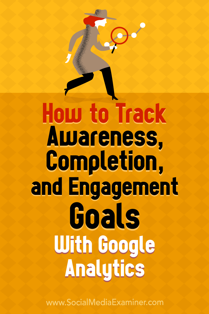 Learn how to assess the effectiveness of the customer journey on your website using awareness, completion, and engagement goals with Google Analytics.