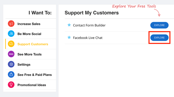 zotabox support customers facebook live chat option