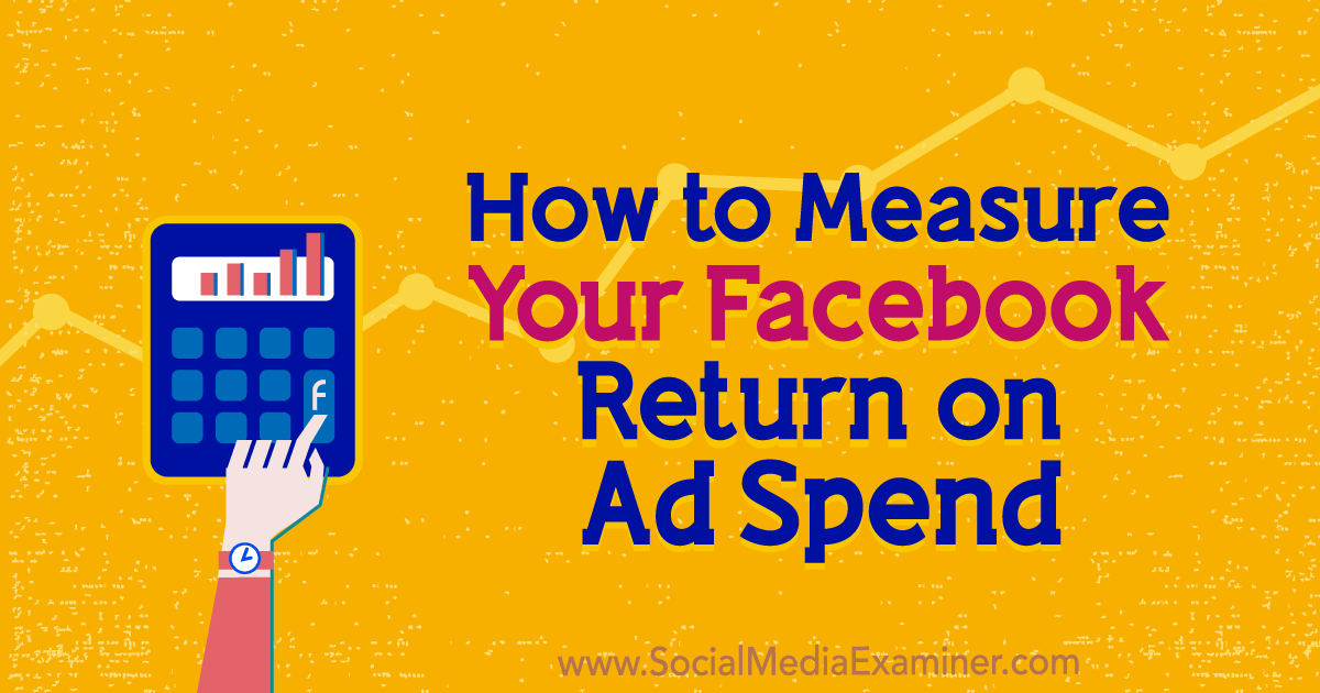 How to Measure Your Facebook Return on Ad Spend : Social Media Examiner
