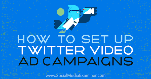 How to Set Up Twitter Video Ad Campaigns by Richa Pathak on Social Media Examiner.