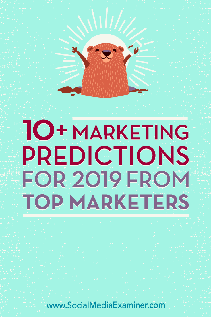 Find out what Seth Godin, Mitch Joel, Mari Smith, Michael Stelzner, and other marketers think about the future of our industry.