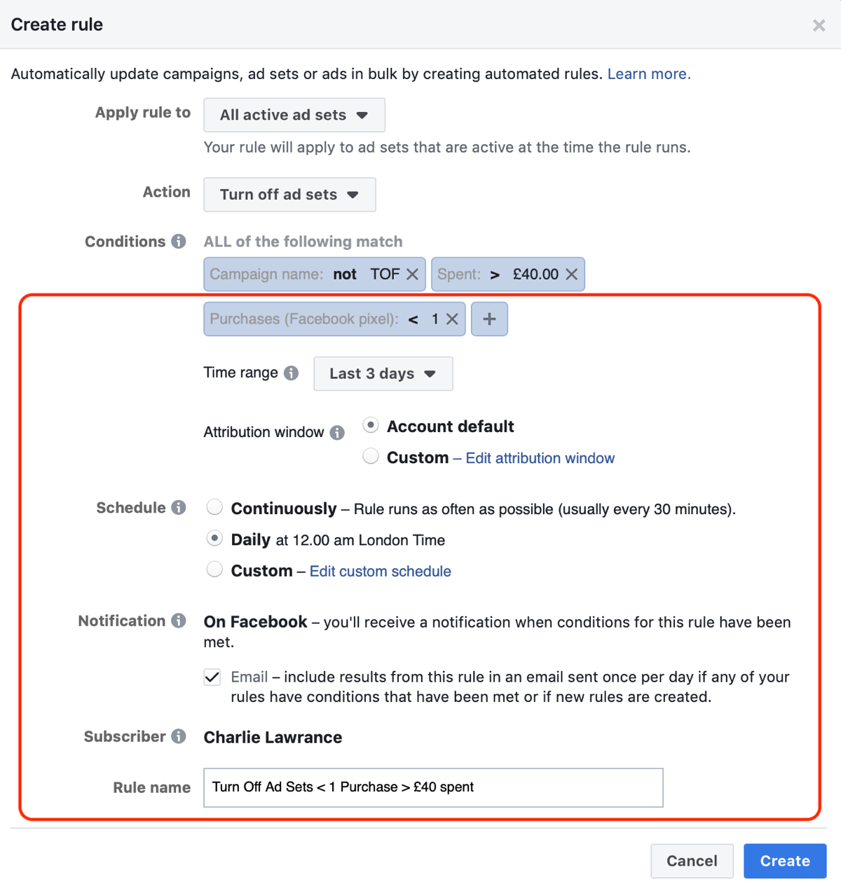 How to Use Facebook Automated Rules to Manage Facebook Ads : Social