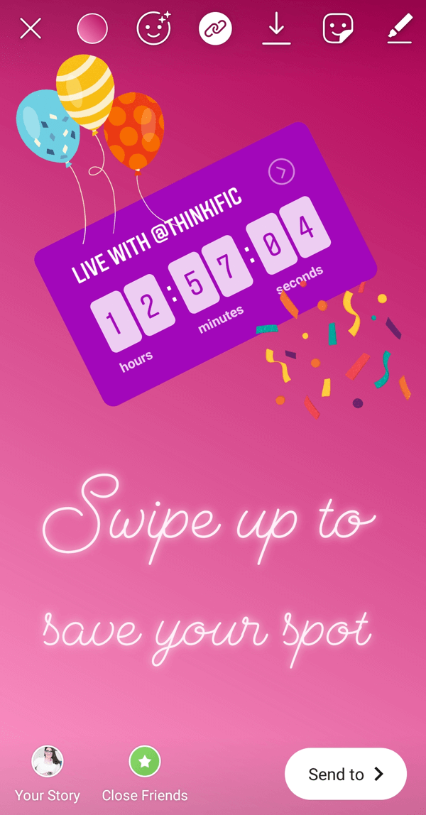 How to Use the Instagram Countdown Sticker for Business : Social