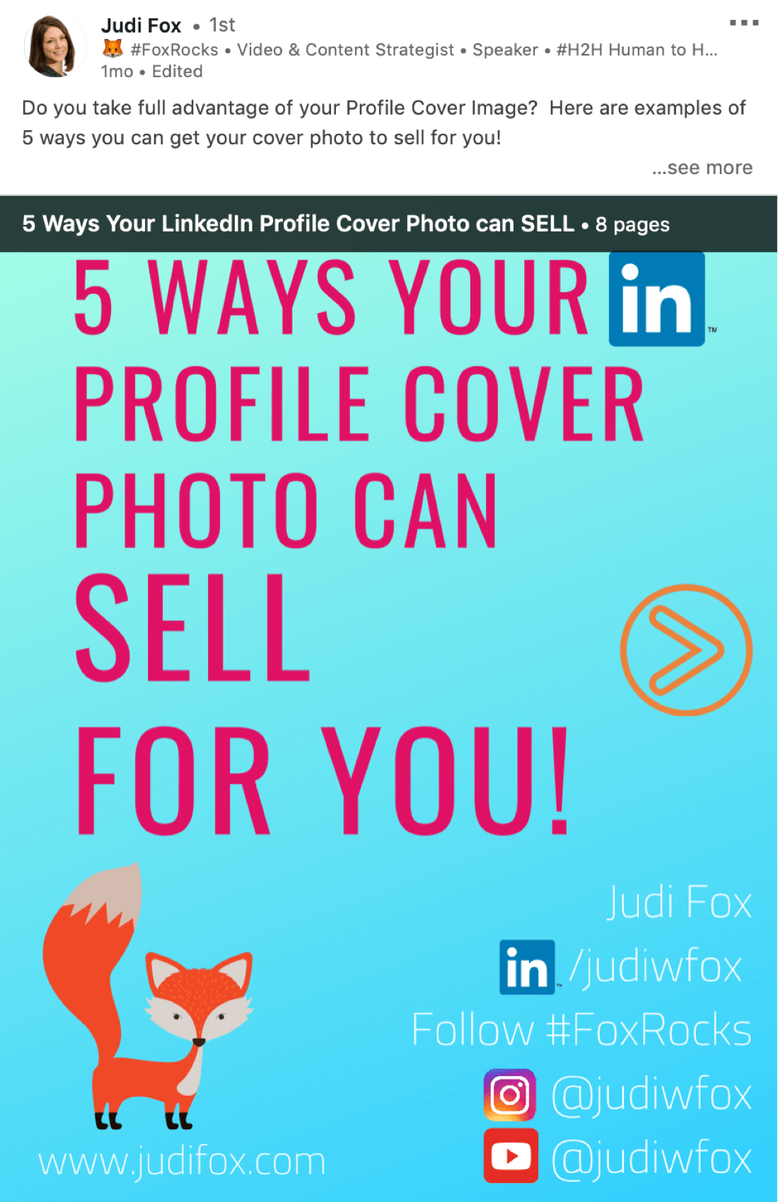How to Share Documents in Your LinkedIn Posts: Marketing