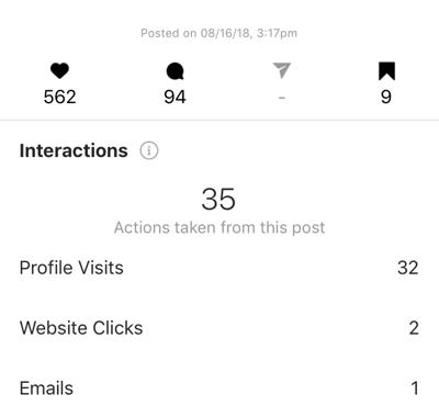 Hoe je een zelfvoorzienende Instagram-advertentiereeks kunt maken en uitvoeren voor slechts $ 5 per dag, Instagram-voorbeeld 1