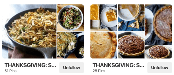 Tips on how to improve your Pinterest reach, example 4, Smitten Kitchen Pinterest boards for