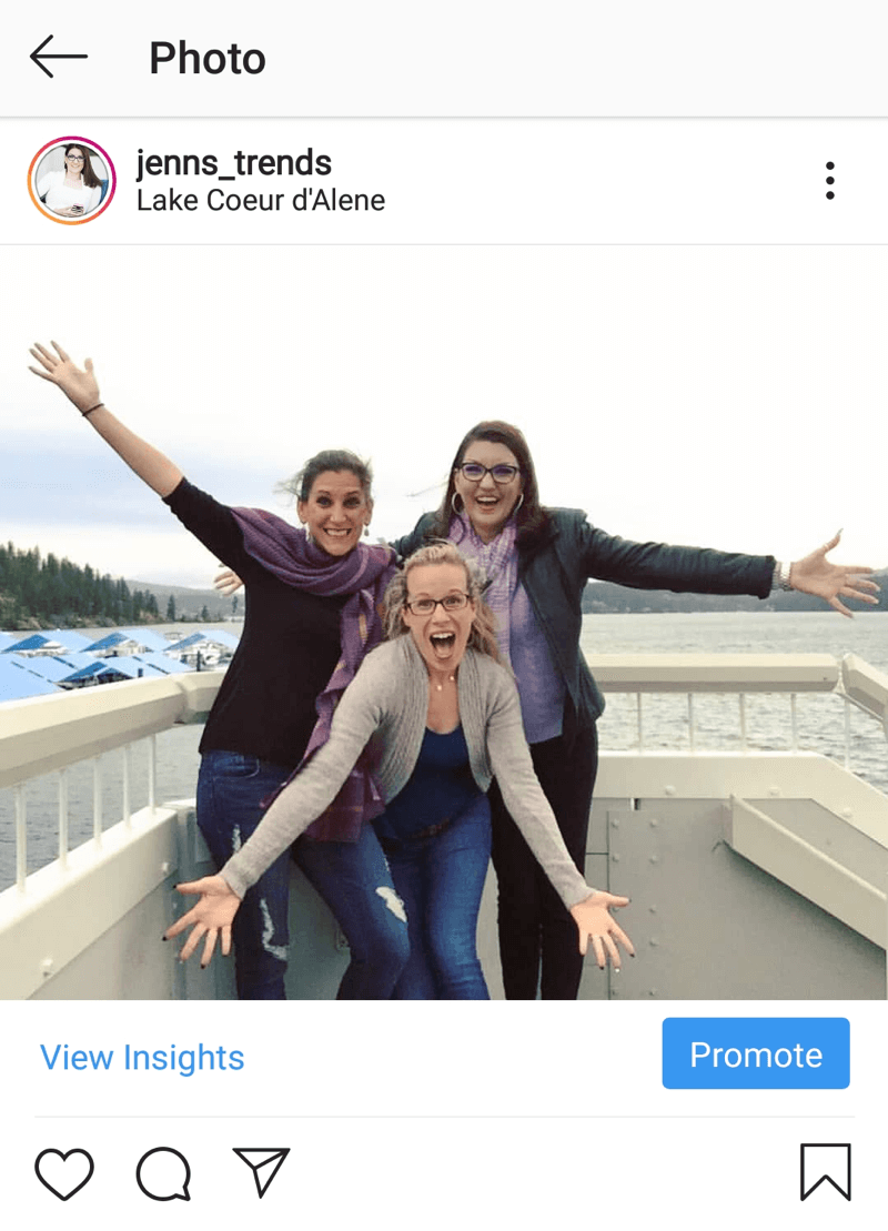 How to add alt text to Instagram posts, example post by @jenns_trends