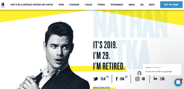Nathan Latka's website.