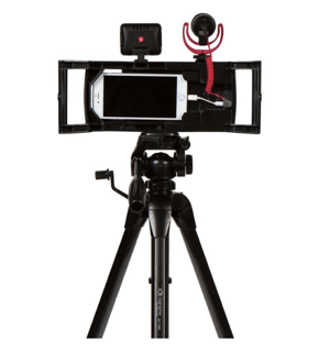 Use a multi case to create steady video, on the go.