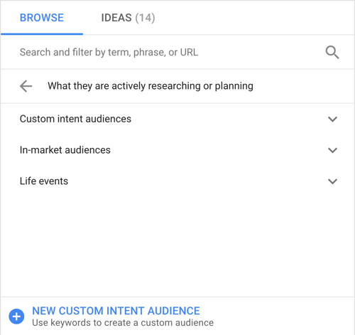 How to set up a YouTube ads campaign, step 22, set funnel stage options