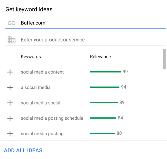 How to set up a YouTube ads campaign, step 31, set relevant keywords