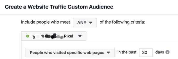 The first mistake is setting website custom audiences to the last 30 days of traffic and failing to consider the particular buying and lead acquisition patterns for the individual brand.
