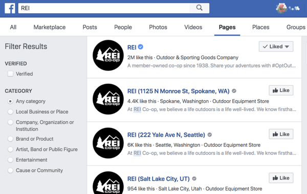 Facebook location pages make it easier for people to find stores and offices that are near them.