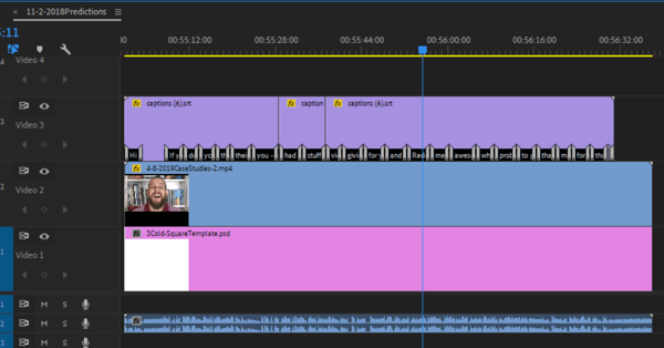 Use a six-step workflow to create video for multiple platforms, step 10, add your .srt file to your video in Premiere Pro