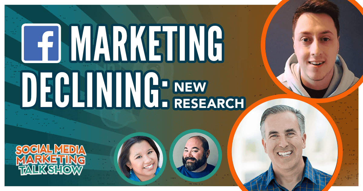 Facebook Marketing Declining: New Research
