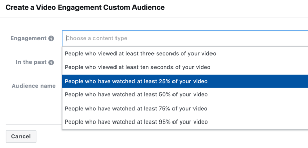 Use Facebook video ads to reach local customers, step 11.