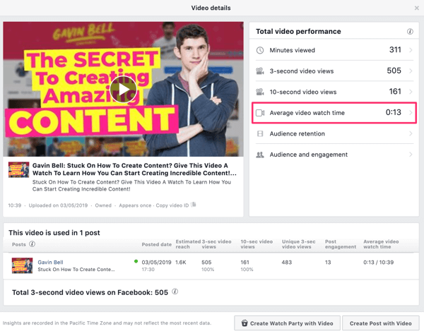 Use Facebook video ads to reach local customers, step 6.