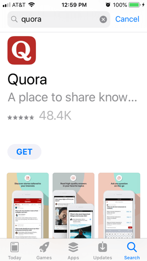 Access Quora on desktop or mobile.