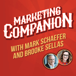 Top marketing podcasts, The Marketing Companion.