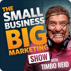 Top marketing podcasts, The Small Business Big Marketing Show.