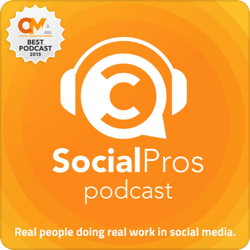 Top marketing podcasts, Social Pros.