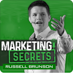 Top marketing podcasts, The Marketing Secrets Show.